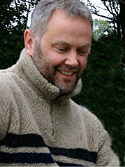 Man in a wooly jumper